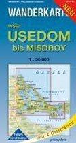 Insel Usedom bis Misdroy 1 : 50 000 Wanderkarte