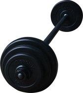 RS Sports Aerobic Pump Set - 130 cm - 20 kg - zwart