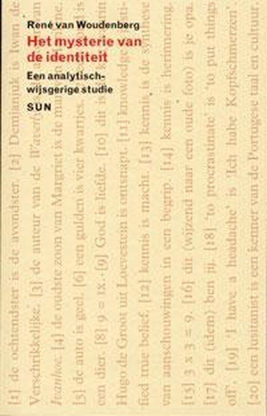 Het Mysterie Van De Identiteit - René van Woudenberg | Fthsonline.com