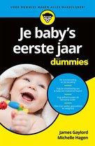 Boek cover Voor Dummies  -   Je babys eerste jaar voor Dummies van Michelle Hagen