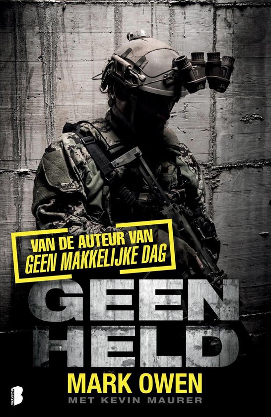 Boek cover Geen held van Mark Owen (Paperback)