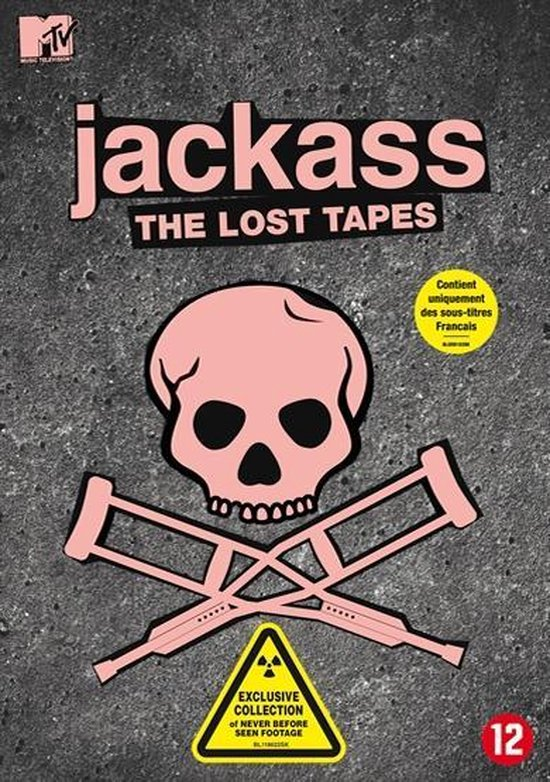 Cover van de film 'MTV Jackass - The Lost Tapes'