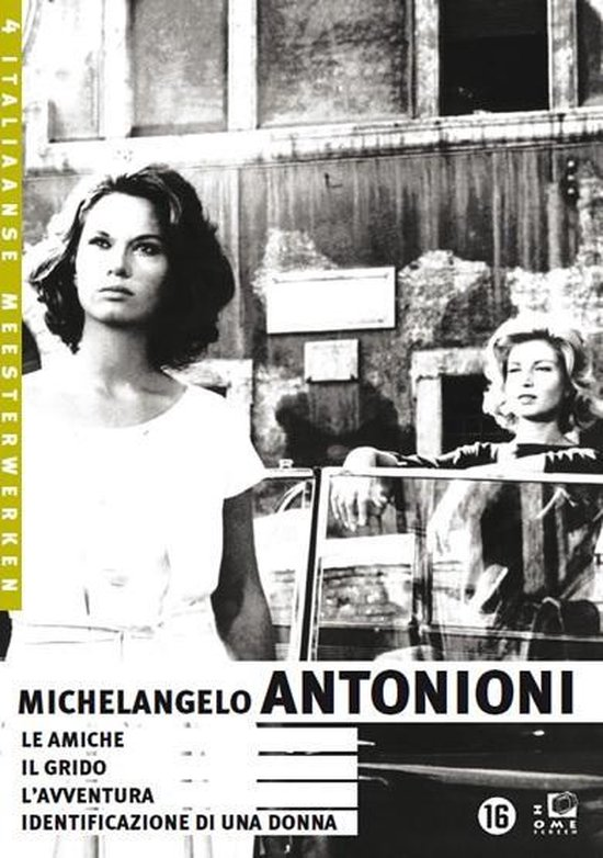 Cover van de film 'Michelangelo Antonioni Box'