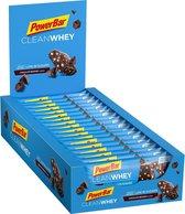 PowerBar Clean Whey Bar - Chocolate Brownie - 18x45g