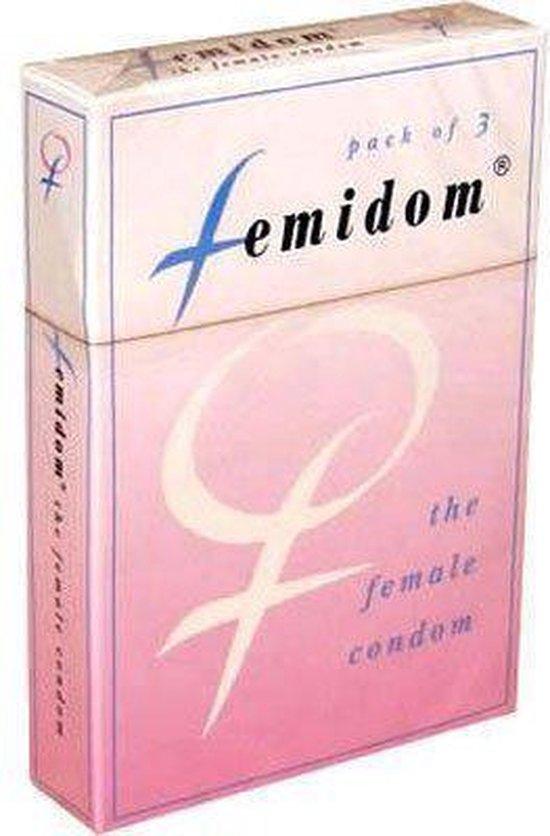 Femidom Vrouwencondooms FC2 - 3 stuks - Condooms