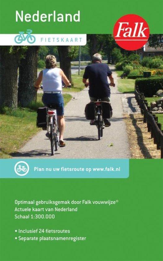 Fietskaart Nederland - Falk |