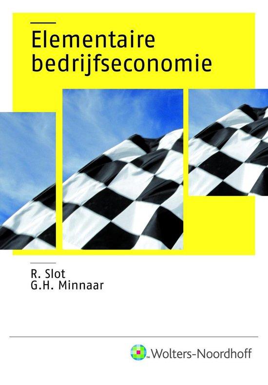 Elementaire bedrijfseconomie - R. Slot pdf epub