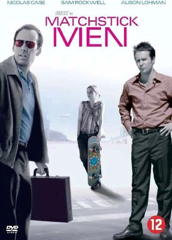 Cover van de film 'Matchstick Men'