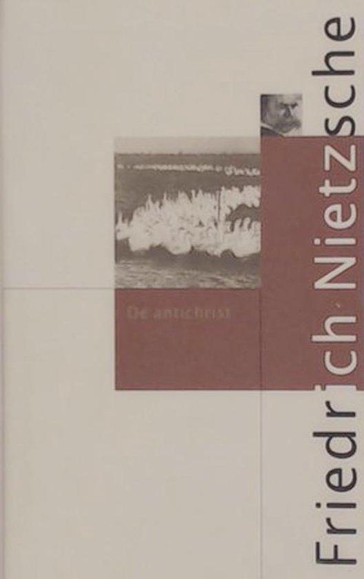 Boek cover De antichrist van Friedrich Nietzsche (Hardcover)