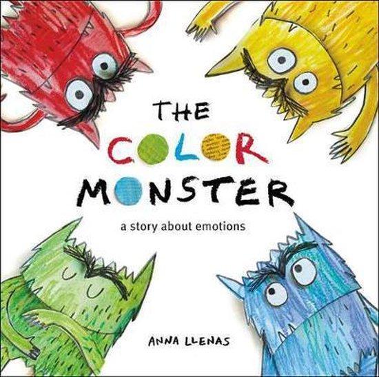 Boek cover The Color Monster van Anna Llenas (Hardcover)