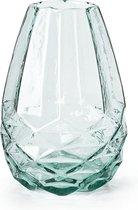 FT 020018 Vaas 'Diamant' Glas H=24.50cm