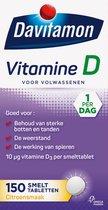 Davitamon Vitamine D Volwassen - vitamine D3 volwassenen - Smelttablet 150 stuks