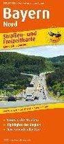 Bayern-Nord. Straßen- und Freizeitkarte 1 : 200 000