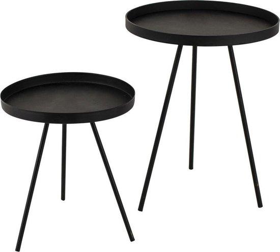 Gusta Decoratieve mini tafeltjes 2 stuks