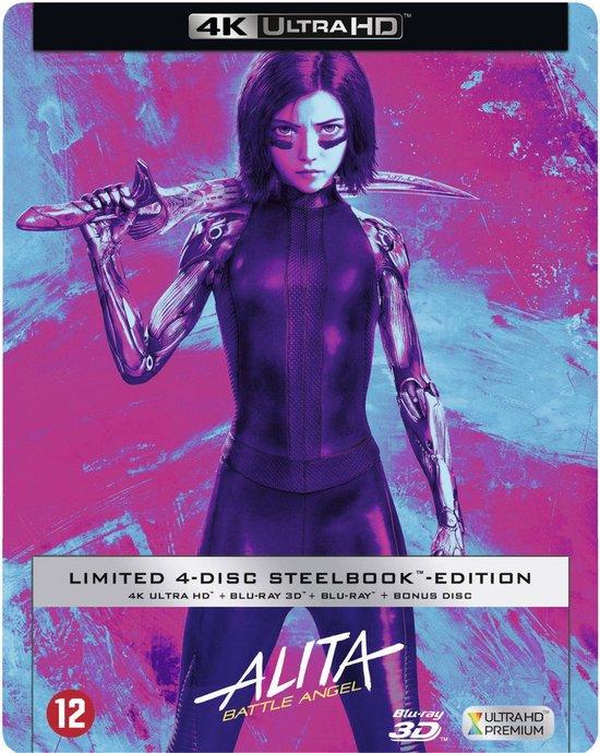 Alita: Battle Angel (Steelbook) (Exclusief bij bol.com) (4K Ultra HD Blu-ray)