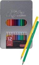 Bruynzeel mXz blik 12 kleurpotloden