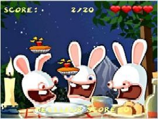 Nintendo Rayman Raving Rabbids (Wii) video-game - Nintendo