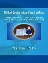 Boek cover Bible Study Questions on Ezra, Nehemiah, and Esther van David E Pratte