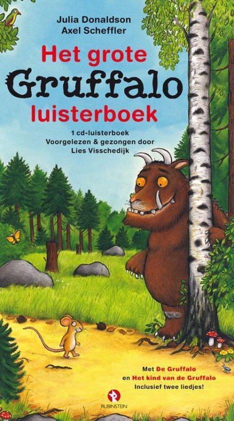 CD cover van Het grote Gruffalo luisterboek van Julia Donaldson
