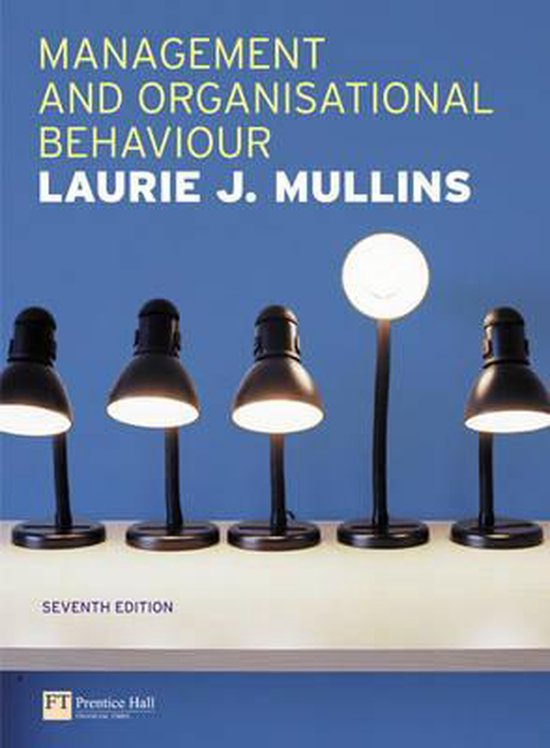 Boek cover Management & Organisational Behaviour van Laurie J. Mullins (Paperback)