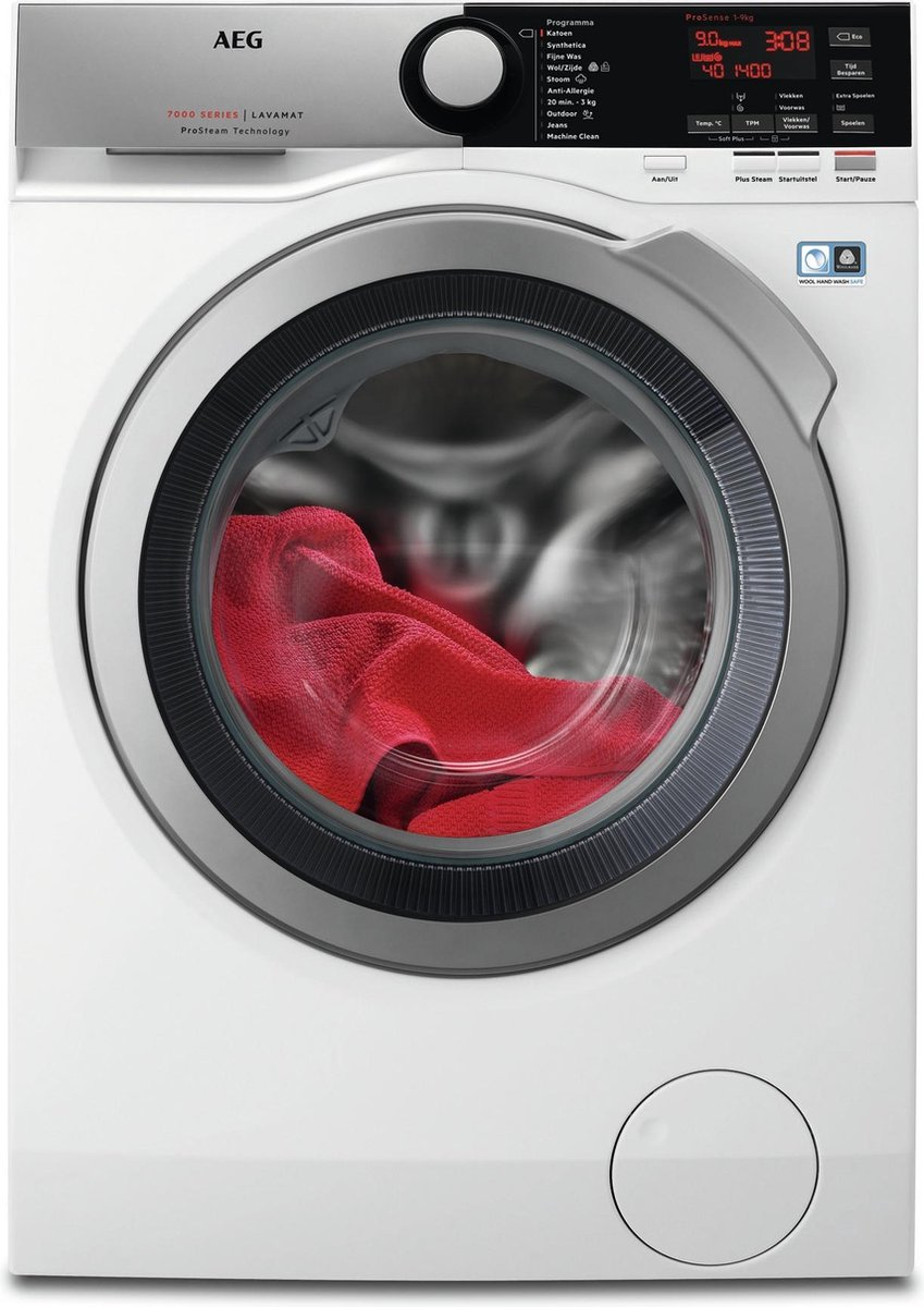 AEG L7FE96ES – 7000 serie – ProSteam – Wasmachine