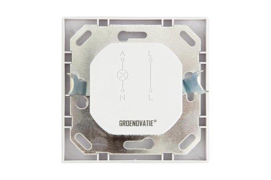 Groenovatie LED PIR Bewegingsmelder/Sensor Tweedraads - Inbouw - Wand