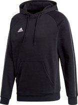 adidas Core 18 Hooded Sweater  Sporttrui casual - Maat XXL  - Mannen - zwart