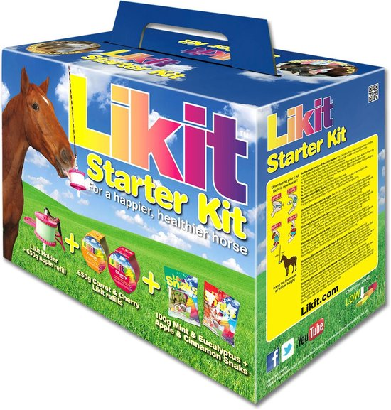 Likit Starter Kit - 3 Likits - 2 Snacks