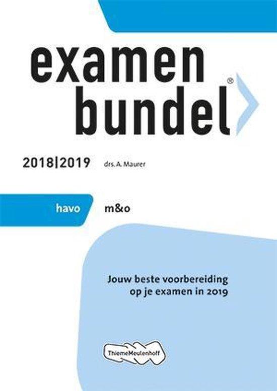 Examenbundel havo Management & Organisatie 2018/2019 - none |