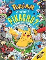 Boek cover Wheres Pikachu? A Search and Find Book van Pokémon