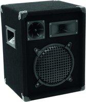 Omnitronic DX-822 3-weg 150 W Zwart Bedraad
