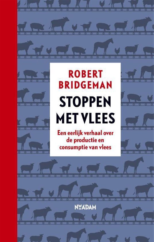 Boek cover Stoppen met vlees van Robert Bridgeman (Hardcover)