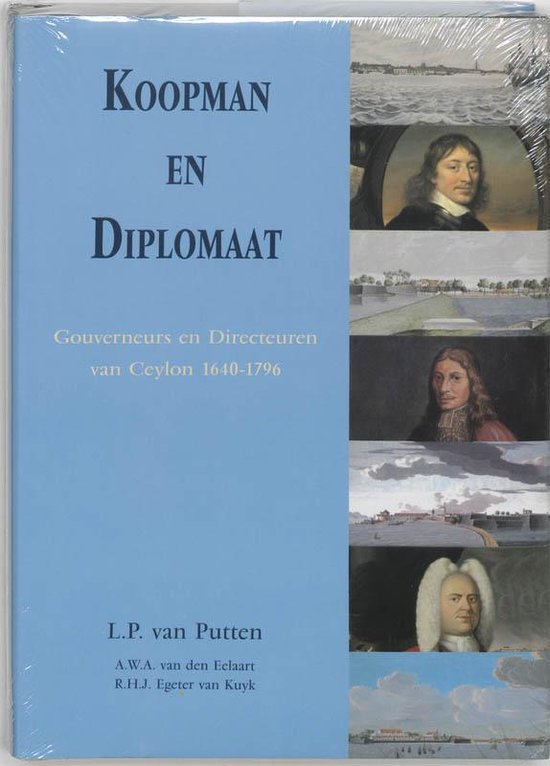 Cover van het boek 'Koopman en diplomaat'