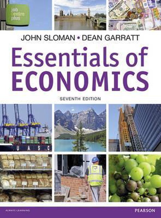 Boek cover Essentials of Economics van Stanley Brue (Paperback)