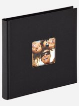 Walther Design FA-199-R Fun - Fotoalbum - 18 x 18 cm - Zwart - 30 pagina's