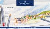 Aquarelkleurpotlood Faber-Castell Goldfaber Aqua etui 36 stuks