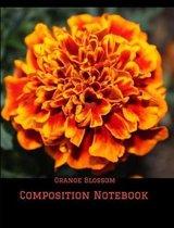 Orange Blossom Composition Notebook