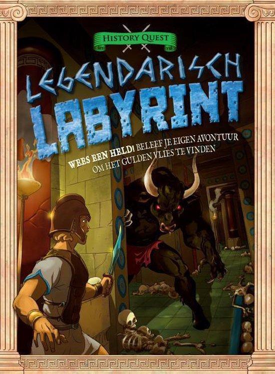 Het legendarisch labyrint - Timothy Knapman |