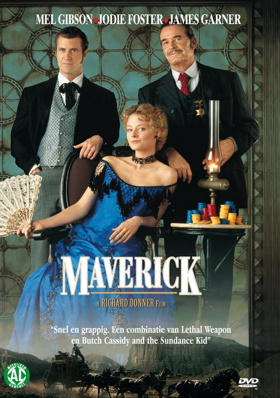 Cover van de film 'Maverick'