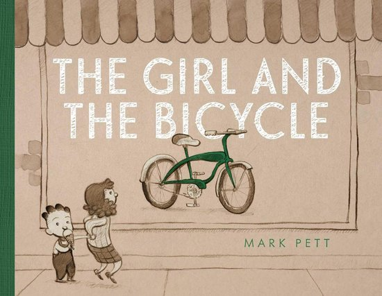 Boek cover The Girl and the Bicycle van Mark Pett (Onbekend)