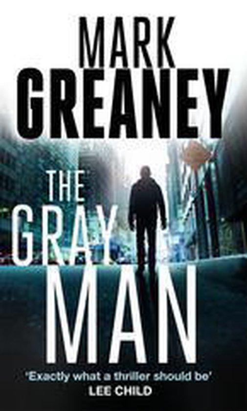 Boek cover The Gray Man van Mark Greaney (Onbekend)