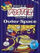 Build a 3-D Poster Coloring Book - Outer Space