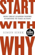 Boek cover Start with Why van Simon Sinek (Onbekend)