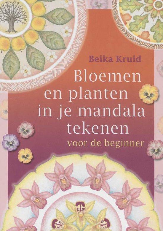 Bloemen en planten in je mandala tekenen voor de beginner - B. Kruid |