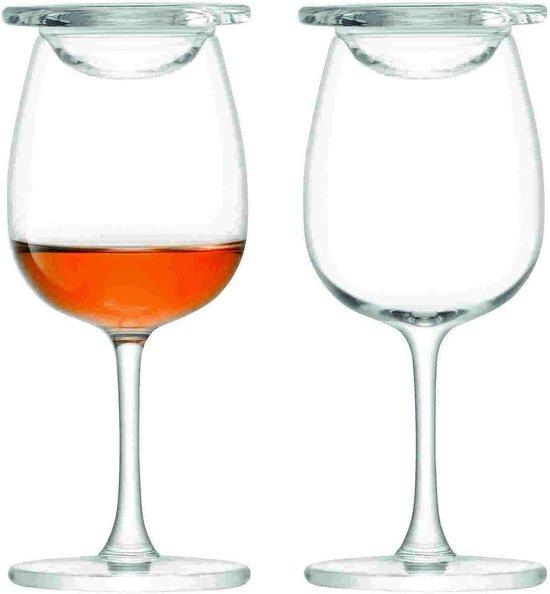 L.S.A. Whiskey Islay Proefglazen - 110 ml - Set van 2 Stuks - Incl. Afdeksels