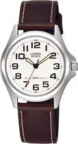 Lorus RRS51LX9 horloge dames - bruin - edelstaal