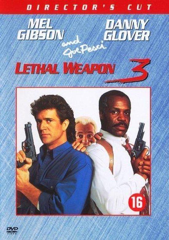 Cover van de film 'Lethal Weapon 3'