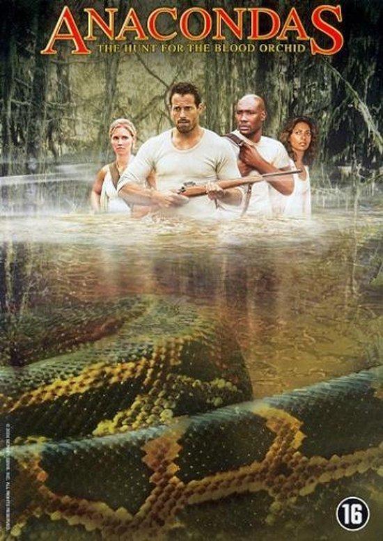 Cover van de film 'Anacondas - The Hunt For The Blood Orchid'