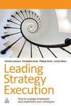 Boek cover Leading Strategy Execution van Suresh Mistry