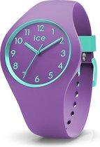Ice-Watch IW014432 Horloge - Siliconen - Paars - 34 mm
